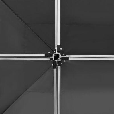 vidaXL antracitszürke összecsukható alumínium rendezvénysátor 4,5 x 3 m
