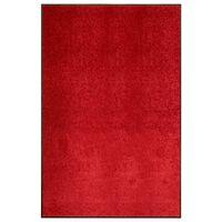 vidaXL piros kimosható lábtörlő 120 x 180 cm