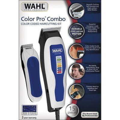 """15 darabos Wahl hajvágó és trimmer   """"Color Pro Combo"""""""