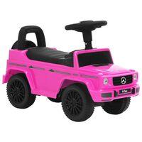 vidaXL rózsaszín Mercedes-Benz G63 pedálos autó
