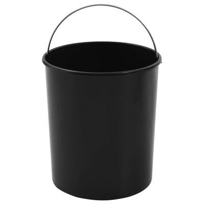 vidaXL beépíthető konyhai műanyag szemetes 12 l