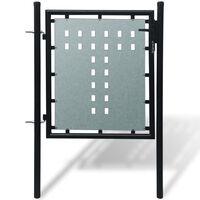 1 ajtós kapu 100 x 150 cm fekete