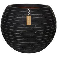 Capi Nature Row KRWZ271 antracitszürke gömb alakú váza 62 x 48 cm