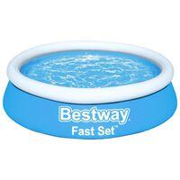Bestway Fast Set kék kerek felfújható medence 183 x 51 cm