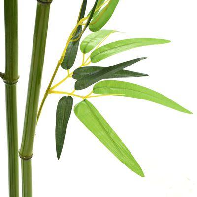 vidaXL zöld, cserepes műbambusz 150 cm