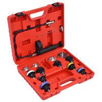 vidaXL 14 darabos hűtőrendszer- és hűtősapka-nyomásmérő