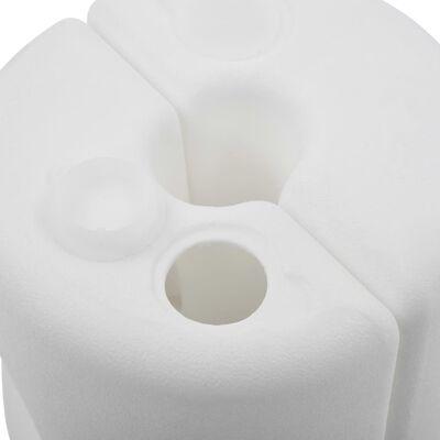 vidaXL 4 db fehér polietilén pavilonnehezék