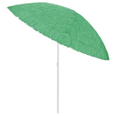 vidaXL zöld strandnapernyő 300 cm