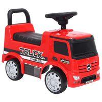 vidaXL piros Mercedes-Benz kamion pedálos autó