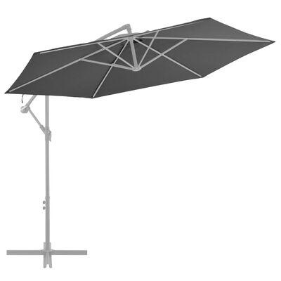 vidaXL antracitszürke konzolos napernyőponyva 300 cm
