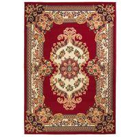 vidaXL vörös/bézs keleti szőnyeg 160 x 230 cm