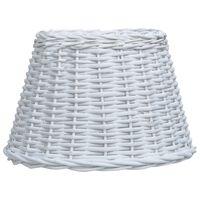 vidaXL fehér fonott vessző lámpabúra 50 x 30 cm