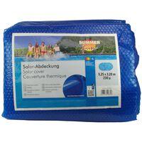 Summer Fun kék polietilén szolártakaró ovális medencéhez 525 x 320 cm