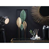 Fali Dekoráció Zöld Arany Fekete PLATINUM