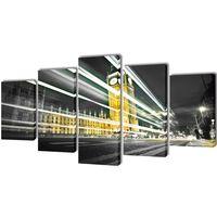 Vászon falikép szett londoni Big Ben100 x 50 cm