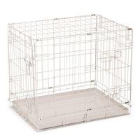 Beeztees szürke kutyaketrec 62 x 44 x 49 cm