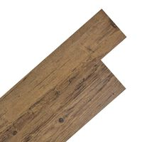 vidaXL dióbarna öntapadó 2 mm-es PVC padló burkolólap 5,02 m²