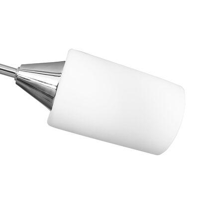 vidaXL fehér kerámia lámpaernyős mennyezeti lámpa 5 db E14-es izzóhoz