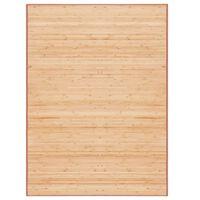 vidaXL barna bambusz szőnyeg 160 x 230 cm