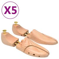 vidaXL tömör fenyőfa sámfa 5 pár cipőhöz 38-39-es méret