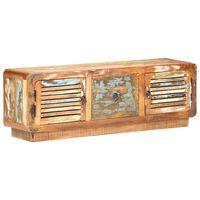 vidaXL tömör újrahasznosított fa TV-szekrény 120 x 30 x 40 cm