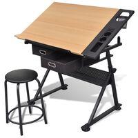 Billenthető Asztal Rajzoló Asztal Szék