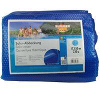 Summer Fun kék polietilén szolártakaró kerek medencéhez 350 cm
