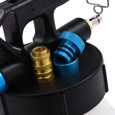 vidaXL pneumatikus féklégtelenítő pumpa töltőpalackkal 3,5 liter