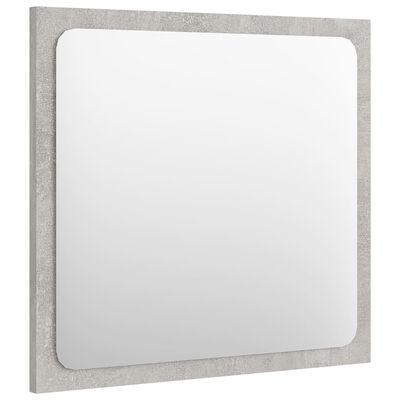 vidaXL betonszürke forgácslap fürdőszobai bútorszett