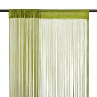 vidaXL 2 db zöld zsinórfüggöny 140 x 250 cm