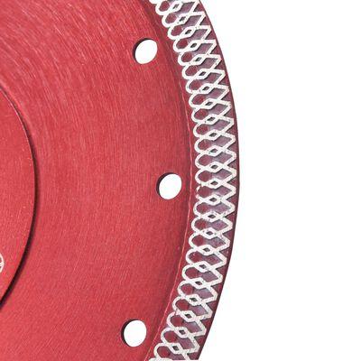 vidaXL gyémánt vágókorong furatos acéllal 180 mm