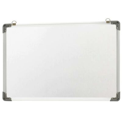 vidaXL szárazon letörölhető fehér acél mágnestábla 50 x 35 cm