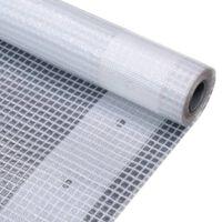 vidaXL fehér takaróponyva 260 g/m² 2 x 10 m