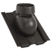 vidaXL fekete tetőventilátor