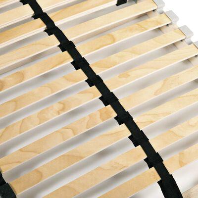 vidaXL 2 db 7 zónás 28 léces ágyrács 80 x 200 cm