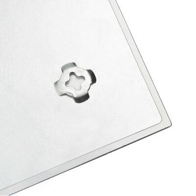 vidaXL falra szerelhető mágneses üvegtábla 60 x 40 cm