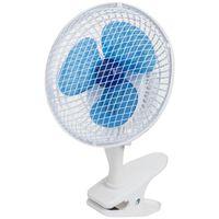 Bestron ACF15 csíptetős asztali ventilátor 19 cm 15 W fehér
