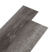 vidaXL csíkos famintás 3 mm-es öntapadó PVC padlóburkolat 4,46 m²