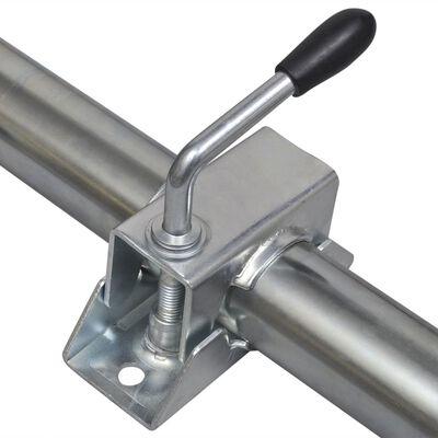 48 mm-es támasztókerék 2 támogató csővel & 2 záró bilinccsel
