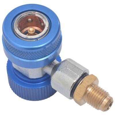 vidaXL 2 db hűtő gyorscsatlakozó adapter