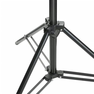 vidaXL teleszkópos háttér állványrendszer 155-300 cm
