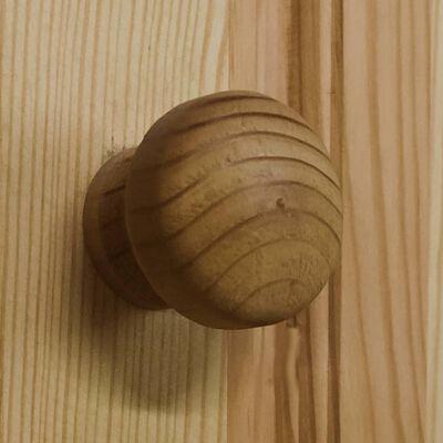 vidaXL tömör fenyőfa fiókos szekrény 75 x 35 x 80,5 cm