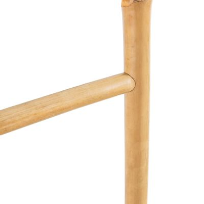vidaXL 5 fokos, bambusz törölközőszárító létra 150 cm