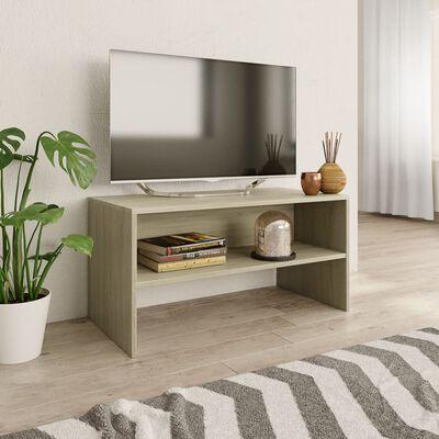 vidaXL sonoma tölgy színű forgácslap TV-szekrény 80 x 40 x 40 cm