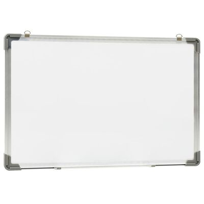 vidaXL szárazon letörölhető fehér acél mágnestábla 60 x 40 cm