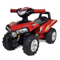 Gyerek játék quad hang- és fényeffekttel piros