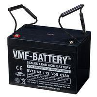 VMF AGM mélyciklusú EV akkumulátor 12 V 63 Ah EV12-63