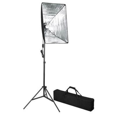vidaXL fotó stúdió szett softbox fényekkel és tárgyfotó asztallal