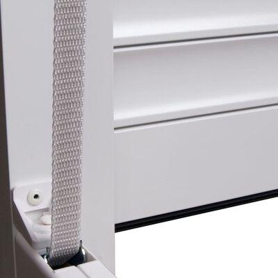vidaXL fehér alumíniumredőny 100 x 210 cm