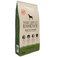 "vidaXL ""Maxi Adult Essence Beef & Chicken"" prémium kutyatáp 15 kg"